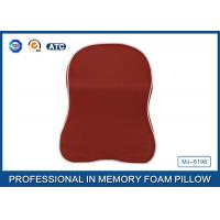 Wholesale Red Memory Foam Car Neck Pillow With Binding , Good For Neck Head Supporting from china suppliers