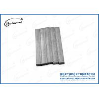 China Gray Cemented Carbide Strips For Wearing Parts / Tungsten Carbide Flat Bars on sale