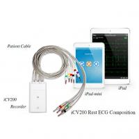 Wholesale Ipad V&H Simultaneous 12 Channel ECG Machine With Bluetooth Transmission from china suppliers