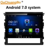 Buy cheap Ouchuangbo car radio headunit stereo android 7.0 for Toyota Land Cruiser 2016 from wholesalers