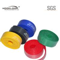 Quality Beautiful Colored Hook And Loop Fastening Tape Adhesive  Sticky Tape Flame Retardant for sale