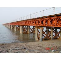 Wholesale Prefabricated Delta Bailey Bridge / Steel Truss Bridge With Steel Structure from china suppliers