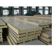 China BEIPENG SHOUHAO® polyurethane sandwich insulation board with metal exterior panels on sale