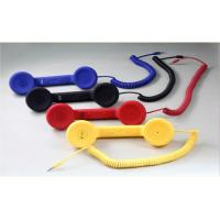 Fashionable Blue, Red, Black, Yellow Telphone Retro Style Handset for Iphone