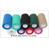 Wholesale Cohesive Bandage Non Woven Fabric Hand Tearable For Cow Equine Horse Protection from china suppliers