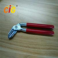 Buy cheap Red Iron Manual Hog Ring Plier / upholstery hog rings pliers from wholesalers