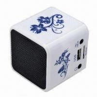 Wholesale New Music Angle Mini Portable Speaker Player, SD/TF Card Slot for PC iPod MP3 Player from china suppliers