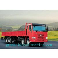 Wholesale Energy-Saving SINOTRUK HOWO A7 8 x 4 Box Stake Truck / Heavy Cargo Truck Euro II / EuroIII from china suppliers