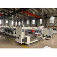 Wholesale Model 2200 X 800 Corrugated Paperboard Automatic Slotter And Creaser Machine  / Diameter 270 mm from china suppliers