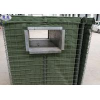 China Military Sand Filled Barriers , Perimeter Security Protective Wall for sale