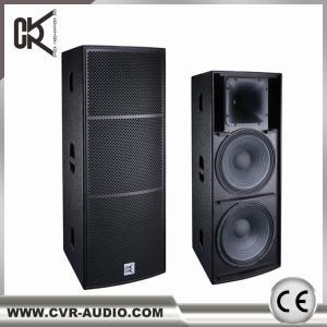 China dual 15  inch full range   speaker Q-215B made in China CVR Pro Audio Factory on sale