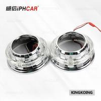 Wholesale IPHCAR Led Car headlight High Low Beam KingKong Led Angel Eyes Hid Xenon Lens from china suppliers