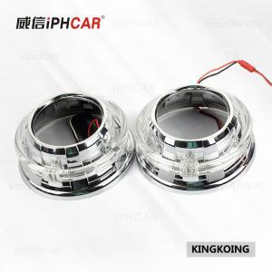 Wholesale IPHCAR Led Car headlight High Low Beam KingKong Led Angel Eyes Hid Xenon Lens from china suppliers