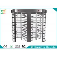 Wholesale Rust-proof RFID Control  Full Height Turnstiles Used For Intelligent Access from china suppliers