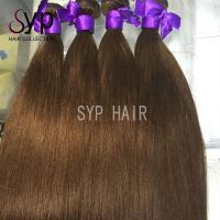 Wholesale European Virgin Russian Dark Brown Ombre Hair Extensions Extra Long Double Weft from china suppliers