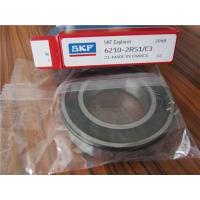 Buy cheap SKF 6210-2RS1 Deep Groove Ball Bearing  50 * 90 * 20 Mm High Precision from wholesalers