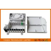 Buy cheap 8 Port Fiber Optic Termination Box / FTTH Mini Splitter Box Wall Mounting On Floor Cabinet from Wholesalers