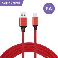 Wholesale Super - Fast Charging USB Data Cable Type - C Connector 5A For Huawei from china suppliers
