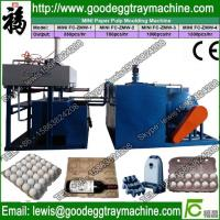 China IS Certification and paper egg tray production line Processing Type recycled waste paper e on sale