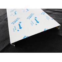 China C - shaped Closed Aluminium Strip Ceiling / Acoustic Suspended Ceiling Tiles Nonwoven on sale