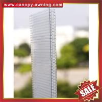 Buy cheap high qualtiy 100% original bayer raw material cell honeycomb polycarbonate pc sheet for building greenhouse project from wholesalers