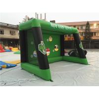 Wholesale 0.6mm PVC Tarpaulin Inflatable Sports Games , Blow Up Soccer Goal For Fun from china suppliers
