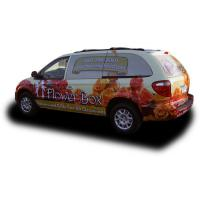 China Weather Resistant Custom Car Magnets / Magnetic Vehicle Signs Full Color Printing on sale