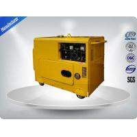Three Loops 3 Phase Portable Generator Set 72 dB With Digital Panel , Silent Frame for sale