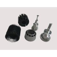 Buy cheap Black Aluminium Heatsink Extrusion With Anodizing Surface treatment +/- 0.005mm from wholesalers