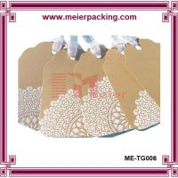 Wholesale Custom printing kraft paper hangtags with ribbon, leather shoes hang tags ME-TG006 from china suppliers