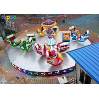 China Indoor Family Amusement Rides Adventure Break Dance Ride 13×13 M Area Size for sale