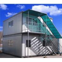 Buy cheap Quick Installation Mobile Office Containers / Portable Modular Homes With Steel Structure from wholesalers