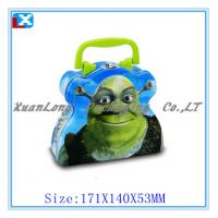Quality Childrens' metal lunch tin box for sale