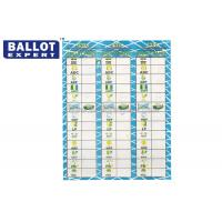 Quality Uncoated Ballot Voting Paper C2S Voting Ticket With Election Serial Number for sale