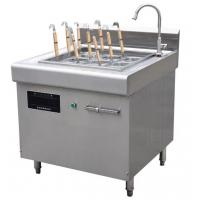 Wholesale 6 Basket Electric Pasta Cooker With Cabinet / Automatic Lift-Up Noodle Cooker Commercial from china suppliers