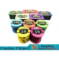 Wholesale Acrylic Casino Style Poker Chips Tough And Durable With ABS New Material from china suppliers