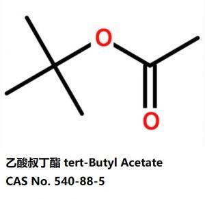 China tert-butyl acetate 540-88-5  organic ester colorless liquid on sale