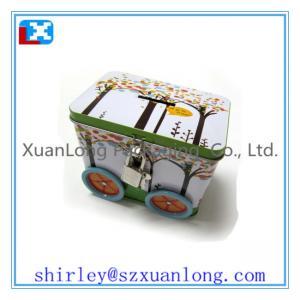 Quality Car Shape Chocolate Tin Box for sale