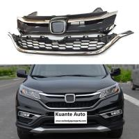 Wholesale Upper + Lower Chrome Front and Bumper Grille Set For Honda CRV CR-V 2015-2016 from china suppliers