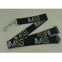 Buy cheap Custom Company Woven Lanyard Holder Sublimation Ribbon For Fair Show ID Card from Wholesalers
