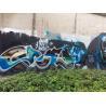 Decorative Graffiti Hammered Spray Paint Matt Black For Steel Door / Ceramic for sale
