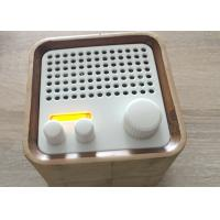 China Portable FM RadioWooden Bluetooth Speaker Wireless For TV / Iphone on sale