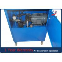 Quality Suspension Hydraulic Hose Fittings Crimping Machine , Hydraulic Pipe Clamping for sale