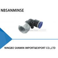 Wholesale PLF Tube Air Pneumatic Push In Plastic Female Elbow Fitting Tube Thread Sanmin from china suppliers
