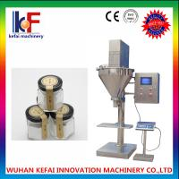 Buy cheap Auger type semi automatic powder filling machine with powder elevator machine from wholesalers