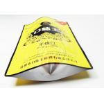China PET / AL / PE Betel Nut Plastic Zipper Bags , Vacuum Sealed Plastic Food Packaging Bags for sale