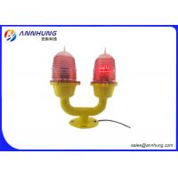 Wholesale High Chimney Double Aviation Waring Light Flashing Red Main - Standby Way from china suppliers