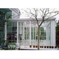 Wholesale White Color Aluminium Glass Greenhouse Luxury Imperial Design System from china suppliers
