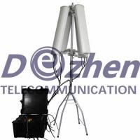 Wholesale High Power Drone Frequency Blocker , Drone Radio Frequency Jammer 600W 4-8 Bands from china suppliers