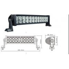 Buy cheap LED Lighting Bar/LED Work Lights 72W from wholesalers